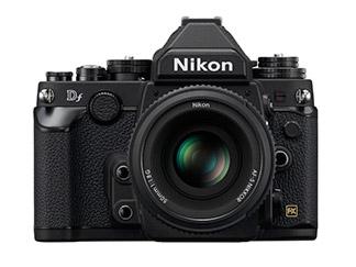 Cámara Nikon DF con Lente AF-S 50mm Negro